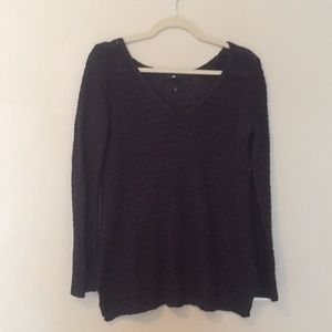 H&M sweater with split sides